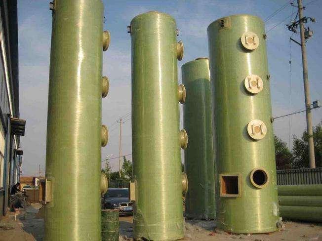 玻璃钢脱硫塔凭借着几大优势成为佼佼者!